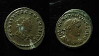 Ancient Coins - Constantine AE Follis. ca 310–313 AD. Trier mint, RARE