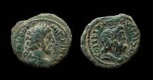 Judaea. Caesarea Maritima. Commodus, 177-192 AD. AE 26 mm.
