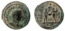 Ancient Coins - Carinus, 283-285 AD. Antoninianus. Tripolis mint.