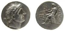 Ancient Coins - Seleukid Kingdom. Antiochos I Soter, 280-261 BC. AR Tetradrachm.