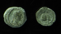 Ancient Coins - Egypt, Alexandria, Hadrian Dichalkon, Rare