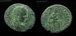 Ancient Coins - Decapolis, Nysa-Scythopolis (Beth-Shean), Elagabalus. AE 31 mm. 19.9 g. Ex Rare! Medallion size!