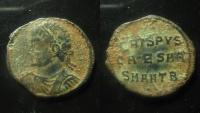 Ancient Coins - Crispus AE 18 mm. 324-325 AD. Antioch mint. Rare.