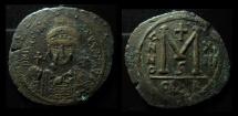 Ancient Coins - Justinian I, Large AE Follis, Carthage mint, RARE