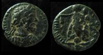 Ancient Coins - Syria,  Damascus, Septimius Severus AE 22mm.