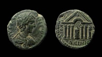 Decapolis, Dium. Caracalla, 198-217 AD. AE 24 mm.