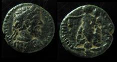 Ancient Coins - Syria,  Damascus, Septimius Severus AE 22mm.