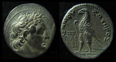Ancient Coins - EGYPT, Ptolemy II Silver Tetradrachm. Cyprus mint, Rare