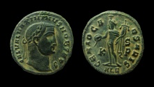 Ancient Coins - Maximinus II. As Caesar, 305-309 AD. AE Follis. Alexandria mint, 6th officina.
