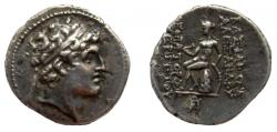 Ancient Coins - Seleukid Kingdom. Alexander I Balas, 150-145 BC. AR Drachm.