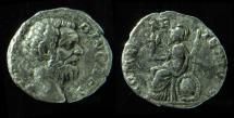 Ancient Coins - Clodius Albinus Silver Denarius. (3.2g), Rare