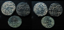 World Coins - Lot of 3 Ayyubid Bronze Coins.