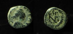 Ancient Coins - Leo I AE 10 mm.