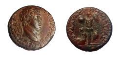 Ancient Coins - JUDAEA, Judaea Capta. Titus, 79-81 AD. AE 24mm. Caesarea Mint. One of the best known! Full Legend.