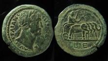 Ancient Coins - Egypt, Trajan AE Drachm of Alexandria. Year 15