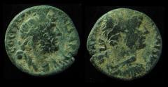 Ancient Coins - SAMARIA, Caesarea Maritima. Hadrian 117-138 AD. Serapis with Modus.