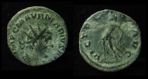 Ancient Coins - MARIUS, Romano-Gallic Emperor, 269 AD. Antoninianus. Victory. Cologne (Koln) Mint