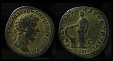 Ancient Coins - Marcus Aurelius. AE Sestertius. Beautiful patina!!!!