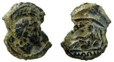 Ancient Coins - Egypt. Alexandria. Lead Tessera, 21 mm.