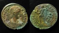 Ancient Coins - Constans, 337 - 350 A.D AE 24 mm. Rome mint. Rare.