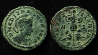 Ancient Coins - Crispus, AE Follis, Lyons. 20 mm; 320 AD
