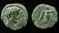 Ancient Coins - Commodus, 177-192 Æ Aelia Capitolina (Jerusalem), Æ 18mm, RARE