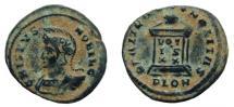 Ancient Coins - Crispus, 317-326 AD. AE Follis. Londinium mint.