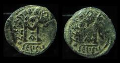 Ancient Coins - HERACLIUS , MINT of SELEUCIA OVERSTRUCK ON HERACLIUS MINT OF ANTIOCH, AND DOUBLE STRUCK !!!