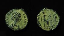 Ancient Coins - Aelia Flaccilla AE 13mm.