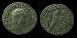 Ancient Coins - PHOENICIA. Akko-Ptolemais. Caracalla. Silver Tridrachm (25mm -8.3 g). Unpublished as Tridrachm