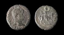 Ancient Coins - EGYPT, Alexandria. Elagabalus. Potin Tetradrachm (13.21 gm). Very Rare!