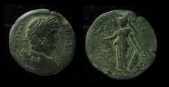 Ancient Coins - Egypt,Alexandria, Hadrian AE Drachm. Year 14 =129-130 AD.