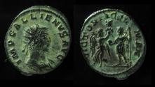 Ancient Coins - Gallienus, antoninianus, Antioch. Joint Reign, 255-256 AD.