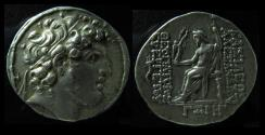 Ancient Coins - SELEUKID KINGDOM, Alexander I Balas. 150-146/145 BC. Silver Tetradrachm. Antioch mint.