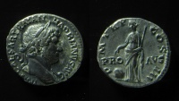 Ancient Coins - HADRIAN, 117-138 AD.  SILVER DENARIUS. PROVIDENTIA. BEAUTIFUL EXAMPLE!!!
