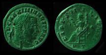 Ancient Coins - MAXIMIANUS, 286 - 305 AD. AE Follis. FIDES MILITUM. Mint of Ticinum., RARE!