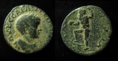 Ancient Coins - Caracalla Æ23mm of Rabbathmoba, Arabia. AD 198-217.