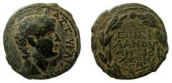 Ancient Coins - Syria. Antioch. Tiberius, 14-37 AD. AE 29 mm.