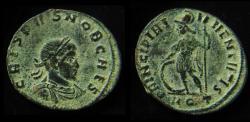 Ancient Coins - CRISPUS AE3. 316-317 AD. Aquileia mint, Beautiful desert patina!