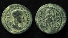 Ancient Coins - Cilicia, Syedra. Maximus, AE 18 mm.