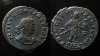 Ancient Coins - Crispus, AD 317-318., AE 20 mm, Nummus. Trier mint.