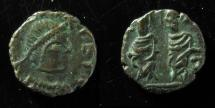 Ancient Coins - Leo I, AE4, 11mm, Constantinople, 457-474 AD. Very Rare+ Superb Example!!!!
