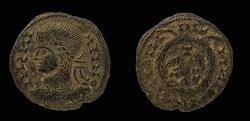 World Coins - Constantine I, barbaric imitation. AE 17 mm, Follis.