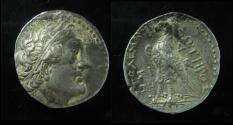 Ancient Coins - Egypt, Ptolemy II silver Tetradrachm. Sidon mint