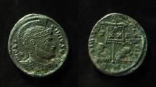 Ancient Coins - Licinius I AE Follis, Siscia, 320 AD.