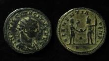 Ancient Coins - Tacitus, 25 September 275 - 12 April 276 A.D. Bronze antoninianus, Antioch mint