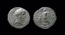Ancient Coins - Septimius Severus. Silver Denarius 193-211 AD. Rome mint.