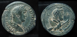Ancient Coins - Egypt, Alexandria. Hadrian. Year 17 (132/133 AD). AE 36 mm, Drachm. Perfect condition.