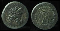 Ancient Coins - Ptolemy III, struck 244-243 BC,Tyre mint, AE19mm.