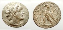 Ancient Coins - Ptolemaic Kingdom , Ptolemy V Epiphanes. 204-180 BC. Silver Tetradrachm ,Kition mint. Rare.